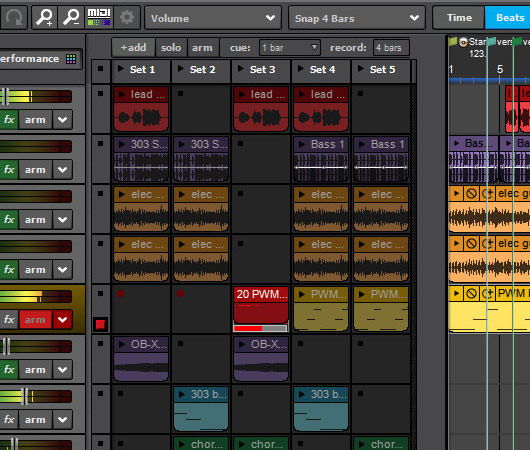 Mixcraft 8 recording software live performance
