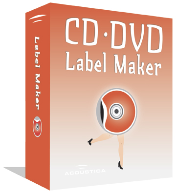 Purchase Acoustica CD/DVD Label Maker